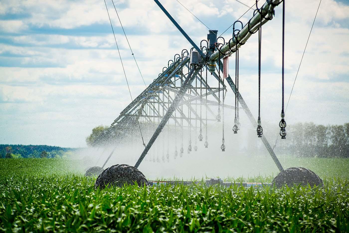 Métodos de irrigação